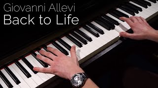 Giovanni Allevi - Back to Life - Piano [HD]