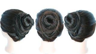 twisted everyday bun || juda hairstyle || hair bun || cute hairstyles || easy hairstyles | messy bun