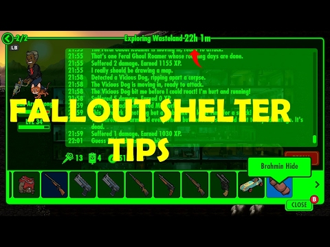 FALLOUT SHELTER XBOX ONE TIPS!!!