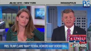 Katy Tur Grills Marc Lotter On When Trump Talked To Employees Who Like The Shutdown