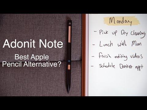 $49 Apple Pencil Alternative - Adonit Note