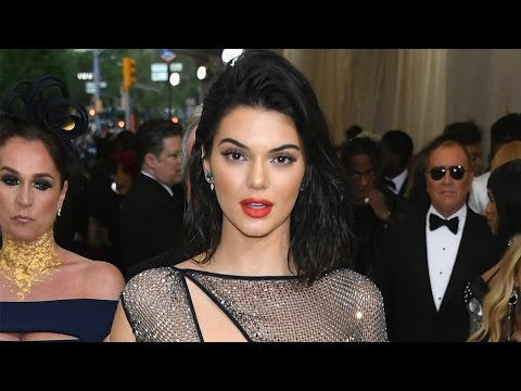 Kendall Jenner's Butt on Full Display in INSANE 85,000 Crystal G-String Dress at 2017 Met Gala