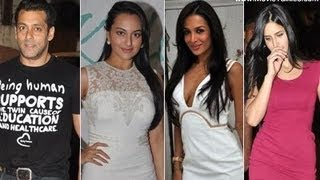 Salman Khan, Katrina Kaif, Malaika Arora Khan and others at Kallista Spa launch