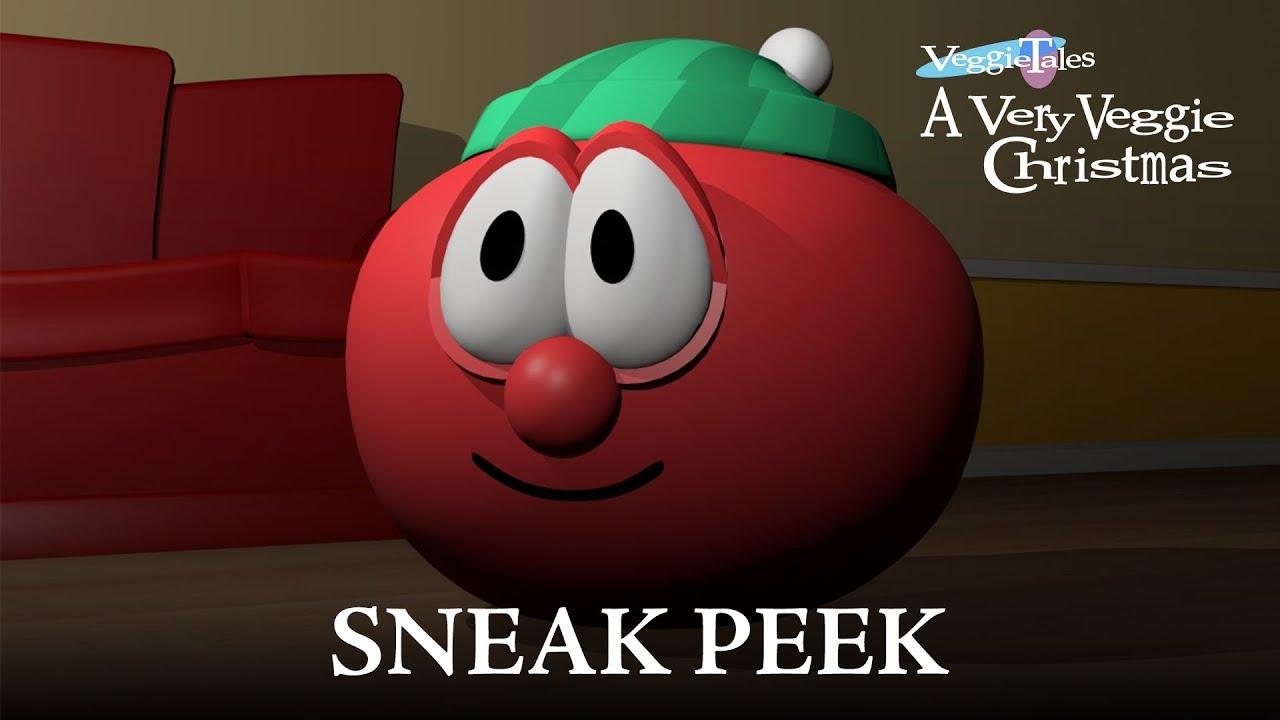 A Very Veggie Christmas.Veggietales A Very Veggie Christmas Animated Version Sneak Peek