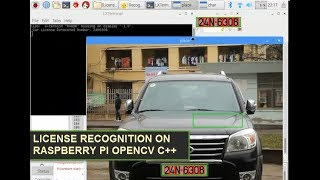 License Plate Recognition Raspberry Pi OpenCV C++ use SVM by Jacky Le