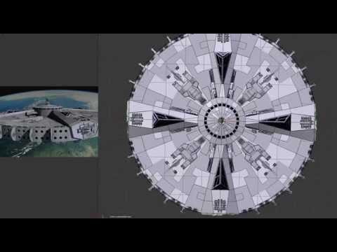 Spaceship Under Construction