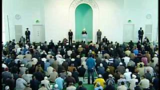 Friday Sermon: 15th May 2009 - Part 1 (Urdu)
