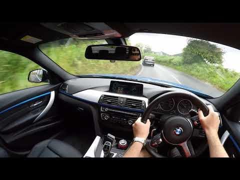 2017 BMW F30 320 M Sport POV Test Drive (Facelift LCI)