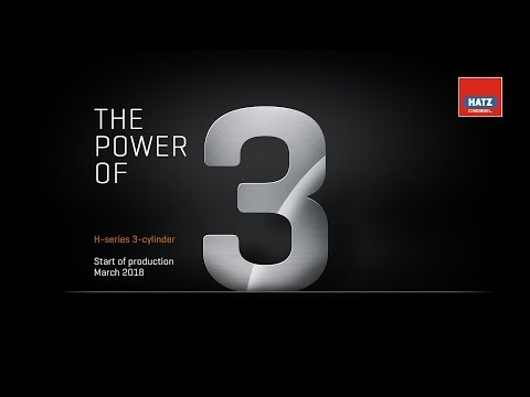 The power of 3 – H-series 3-cylinder start of production