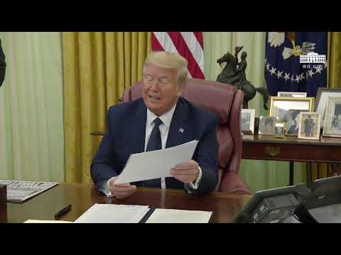 The White House: President Trump Signs an Executive Order