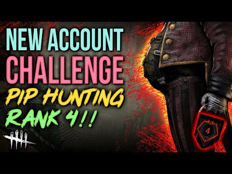 RANK 4 - Pip Hunting [#195] New Account Challenge in Dead by Daylight