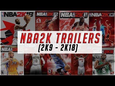 NBA 2K Momentous Trailers (2K9 - 2K18)