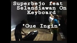 Super Bedjo - Gw Ingin ( Live Piano Version )@The Palace Scbd Opening Dewa 19