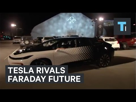 Thumbnail: Tesla rival Faraday Future debuts the FF 91