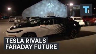 Tesla rival Faraday Future debuts the FF 91