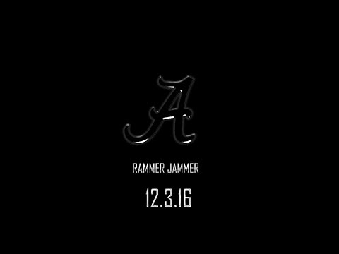 Alabama Hype Trailer 2016: SEC Championship (College football pump-up)