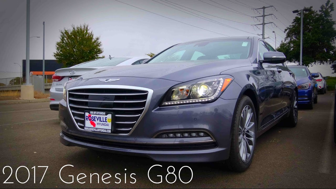 2017 Genesis G80 3.8 >> 2017 Genesis G80 Ultimate 3 8 L V6 Review