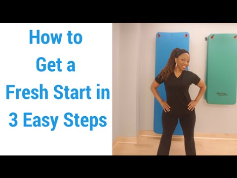 How to Get a Fresh Start