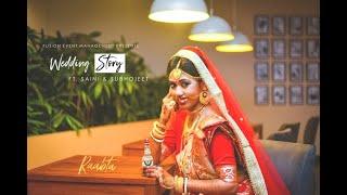 Wedding Cinematic Teaser | Bengali | Saini   Subhojeet | Raabta | Fusion Event Management |
