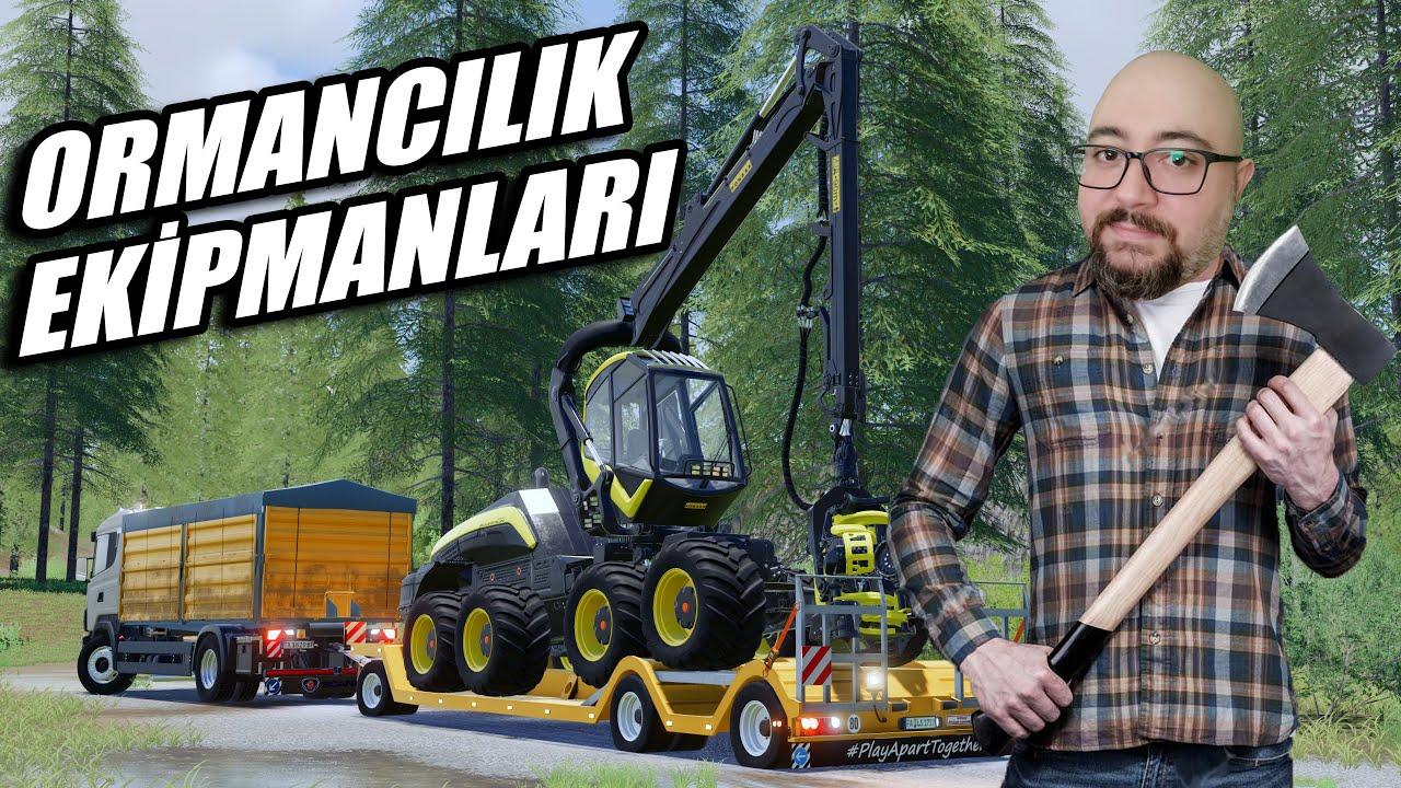 BALTALAR ELİMİZDEEE🤣 | ORMANA GİDİYORUZ // THE VALLEY THE OLD FARM #10 | FS19 !!