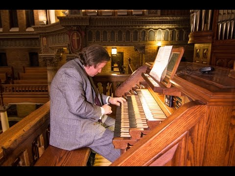 NYC AGO 2016 Improvisation Symposium: Justin Bischof concert