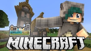 BUILDING THE TOWN HALL! - PillagerCraft SMP - Ep.9