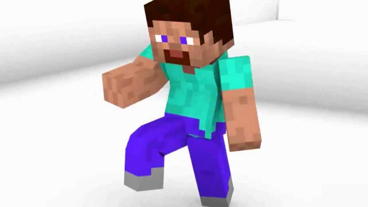 Dancing Steve (Minecraft Animation) - YouTube
