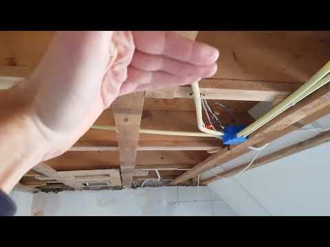 Plafond Badkamer Maken : Plafond badkamer maken gips stucwerk en spotjes youtube