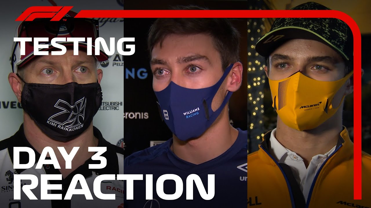 Download Driver Reaction After Day 3 Of Pre-Season F1 Testing