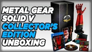 Metal Gear Solid V Collector's Edition Unboxing