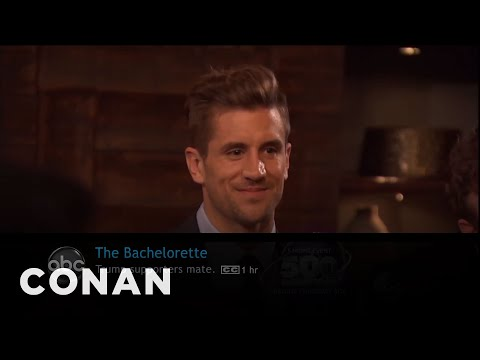 What Conan's Watching: The Bachelorette, The Flash Edition  - CONAN on TBS