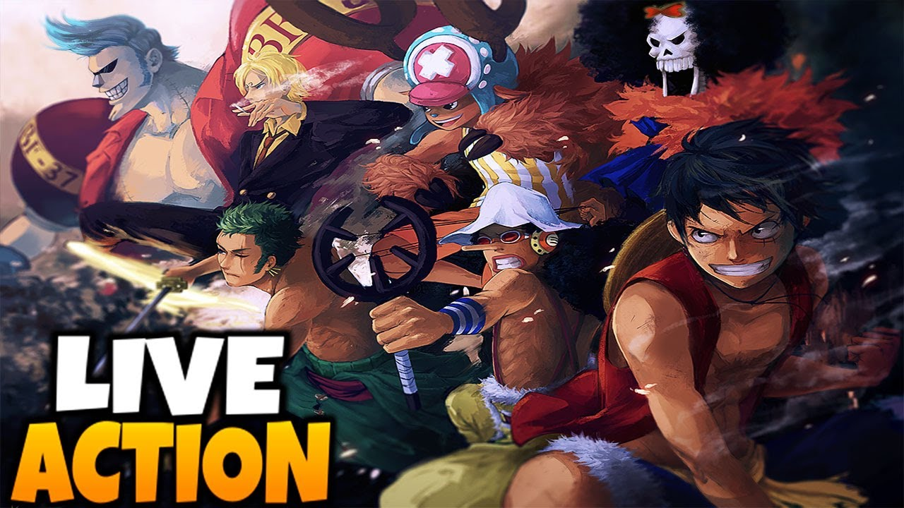 One Piece: LIVE ACTION SERIES CONFIRMED! THIS IS GOING TO ...