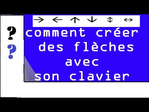 Comment cr er des fl ches avec son clavier youtube for Comment obtenir des plans