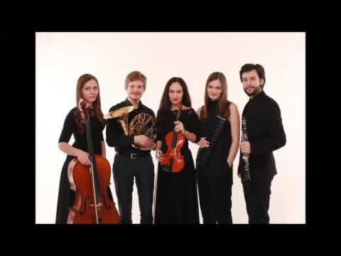 Елизавета Акбалькан – Квартет для двух скрипок, альта и виолончели I Moderato