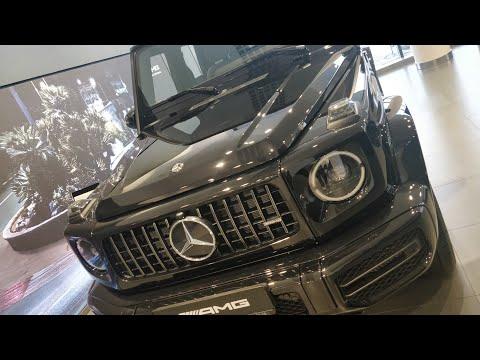 Mercedes-AMG G 63 Гелик нового поколения 2020 года это вам не УАЗ Hunter !