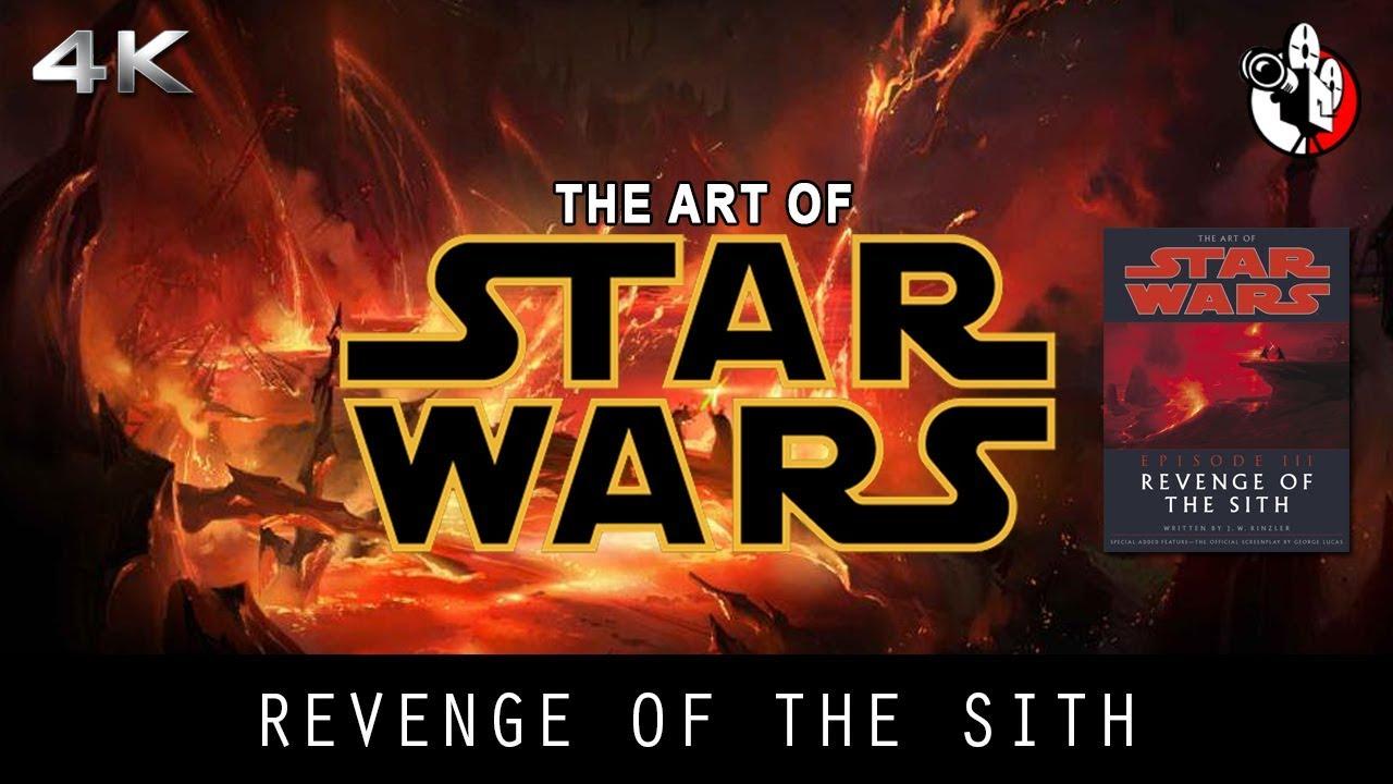 The Art Of Star Wars Revenge Of The Sith Concept Art Youtube