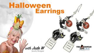 Witch and Kitty Earrings