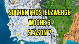 Fortnite: Finde Frösteln Zwerge Woche 6 Season 7
