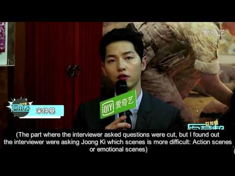 [ENGSUB] 160225 Song Joong Ki & Song Hye Kyo iQIYi Interview Cut