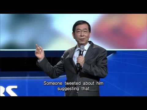 Seoul Mayor on the Wikipedia Administration in the Making | SDF2013
