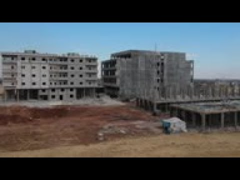 Opposition-run Aleppo sees construction boom
