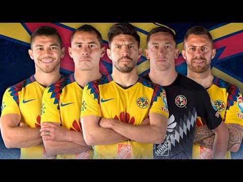 EN VIVO: La Foto Oficial Club América #SiempreÁguilas