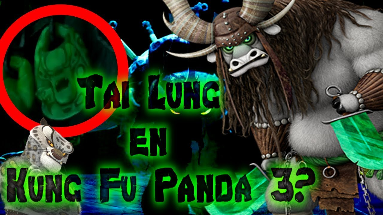 ¿Tai Lung aparece en Kung Fu Panda 3? | the Dream Fox ...