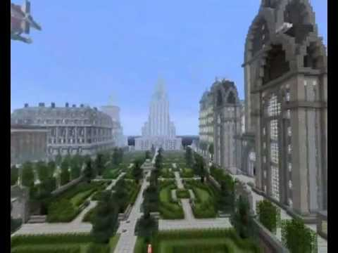 Minecraft Huge Imperial City Update 5 Map Download Youtube
