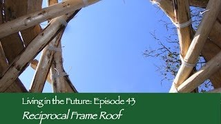 How to build a Reciprocal Frame Roof - with Tony Wrench: Living in the Future (Ecovillages) 43