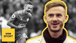 James Maddison: Leicester City star shows how to take the perfect free-kick - BBC Sport