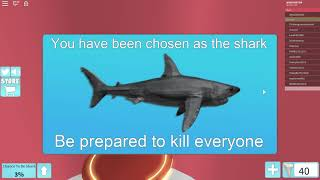 Roblox Shark bite: It was fun to be a shark:)