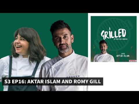 Michelin-starred chef Aktar Islam & Ready, Steady, Cook's Romy Gill Grilled by The Staff Canteen