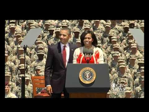 Michelle calls president