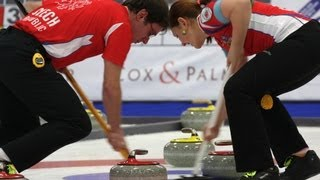 CURLING: CZE-RUS World Mixed Doubles Chp 2013 - Qualification 1/4 Final pos